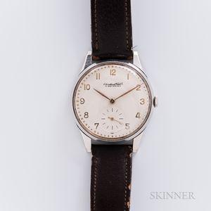 "IWC ""Oversized"" Stainless Steel Wristwatch"
