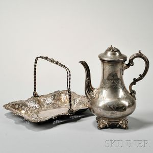 Two Pieces of Victorian Sterling Silver Tableware