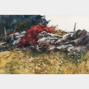 Don Stone (American, 1929-2015)      Stone Wall.