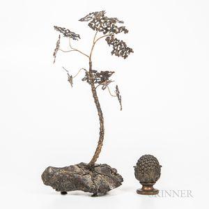 Corey Daniels (20th/21st Century), Gingko Tree Sculpture