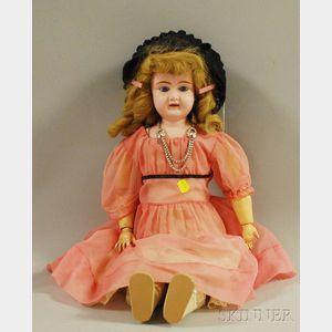 Large Metal Head Doll