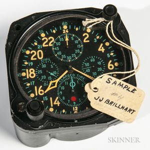 "Hamilton Elapsed Time ""Sample 58"" Clock"