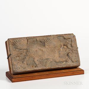 Tomb Pottery Tile