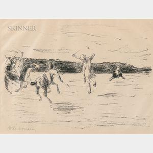 Max Liebermann (German, 1847-1935)      Polo