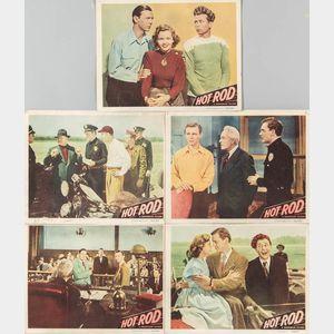 "Five ""Hot Rod"" Movie Lobby Cards"