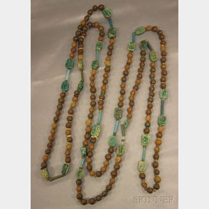 Ancient Egyptian Bead Necklace