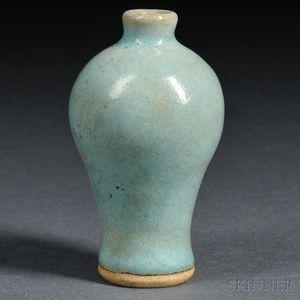 Miniature Jun Ware Vase