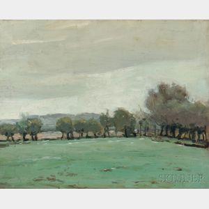 American School, 19th/20th Century      Abbot Hill, from Abbot Farm