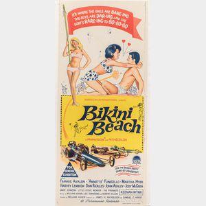 """Bikini Beach"" Movie Poster"