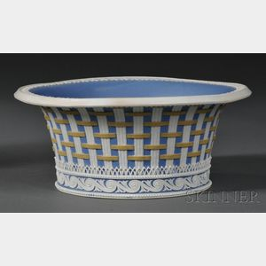 Wedgwood Three-color Jasper Strapware Bowl