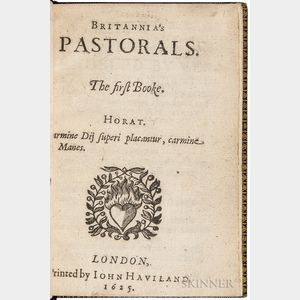 Browne, William (1590-c. 1645) Britannia's Pastorals. First and Second Books.