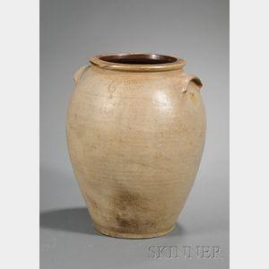 Large Stoneware Jar