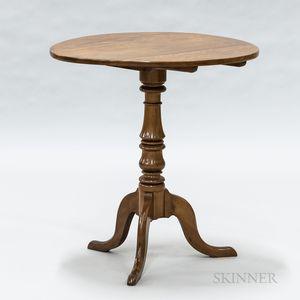 Cherry Tilt-top Table