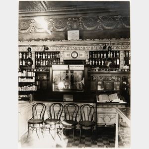 Eugène Atget (French, 1857-1927)      Pharmacy Interior, Paris