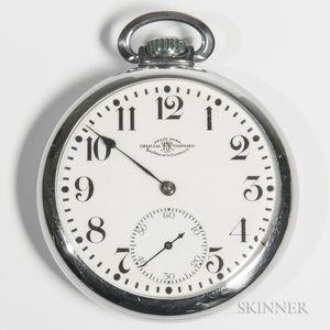 """Ball Watch Co. """"Official Standard"""" Open-face Watch"""