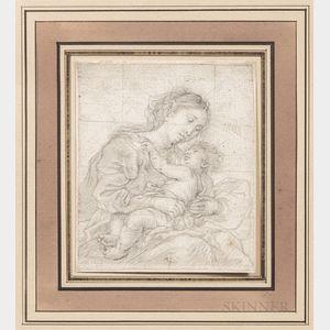 Flemish School, 17th Century      Madonna and Child, Half-length View