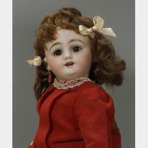 Small Simon Halbig Bisque Socket Head Doll
