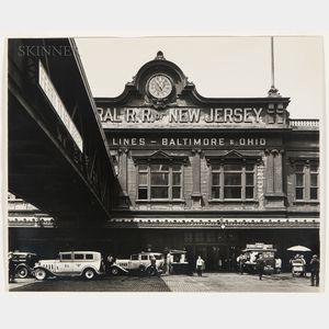 Berenice Abbott (American, 1898-1991)      Ferry, Foot of Liberty Street, Manhattan