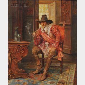 Alex de Andreis (British, 1880-1929)      Cavalier