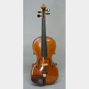 Mittenwald Violin, for Wurlitzer Inc.