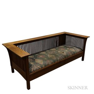 Stickley Audi Cherry Prairie Spindle Settle