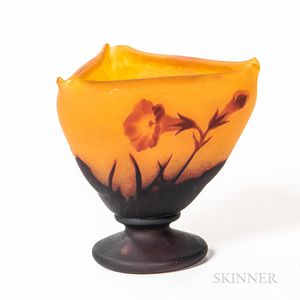 Daum and Louis Majorelle (French, 1859-1926) Cameo Glass Vase