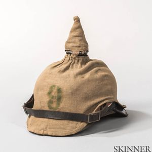 Imperial German Model 1915 Pickelhaube and Cover