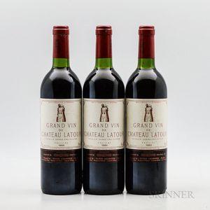 Chateau Latour 1983, 3 bottles