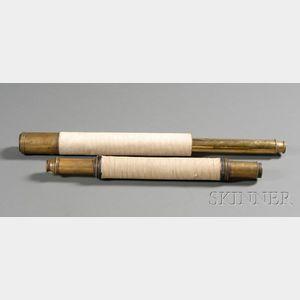 1 3/4-inch Single-Draw Brass Spyglass