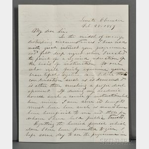 Davis, Jefferson (1808-1889) Archive of Correspondence with John W. French (1808-1871)