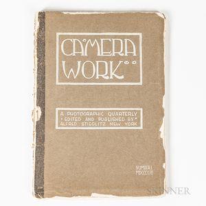 Sold for: $156,250 - Stieglitz, Alfred (1864-1946) Edward Steichen
