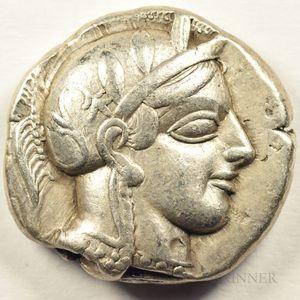Tetradrachm from Ancient Greece