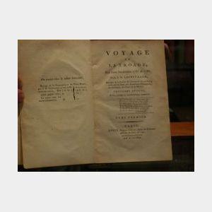 Le Chevalier, Jean Baptiste,  Voyage de La Troade