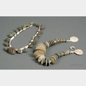 Two Pre-Columbian Bead Necklaces