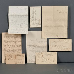 Davis, Jefferson (1808-1889) and Varina Banks Howell Davis (1826-1906)   Archive of Correspondence