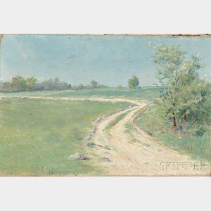 David Howard Hitchcock (American, 1861-1943)      Country Lane