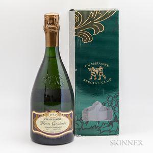 Henri Goutorbe Champagne Special Club 2002, 2 bottles