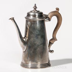 Ensko Georgian-style Sterling Silver Coffeepot