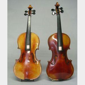 Two Modern German Violins