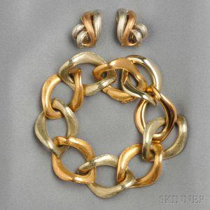 18kt Bicolor Gold Bracelet