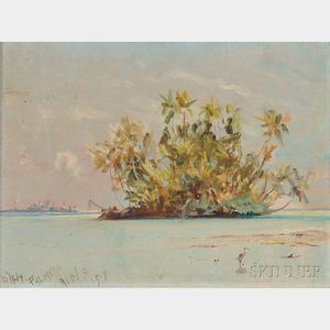 David Howard Hitchcock (American, 1861-1943)      Palmyra Island