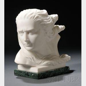 Renzo Palmerini (American, 20th/21st Century)      Portrait Bust of a Woman