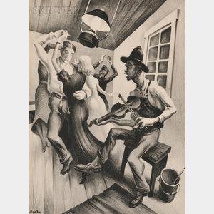 Thomas Hart Benton (American, 1889-1975)      I Got a Gal on Sourwood Mountain