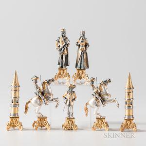 Giuseppe Vasari Byzantine Chess Set