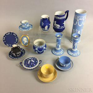 Seventeen Wedgwood Ceramic Items