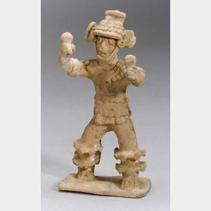 Pre-Columbian Pottery Shaman Figure