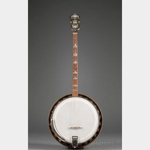 American Tenor Banjo, William L. Lange Company, New York, c. 1925