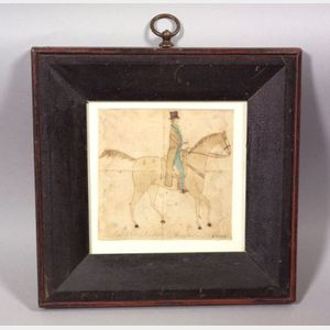 "American School, 19th Century      ""Peter B. Van Arsdalen's Horse."""