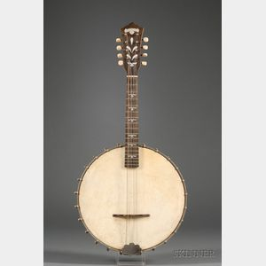 American Mandolin Banjo, William L. Lange Company, New York, c. 1930