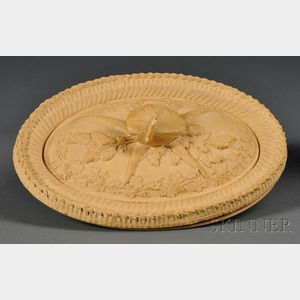 Wedgwood Caneware Pie Dish, Cover, and Liner